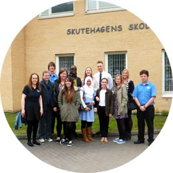 Final Day outside Skutehagens School