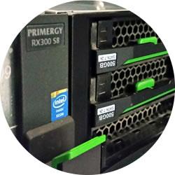 Fujitsu RX300 Server