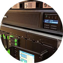 Fujitsu BX400 Cluster