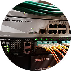 D-Link 10GbE Switching Infrastructure and Samsung Wireless Enterprise