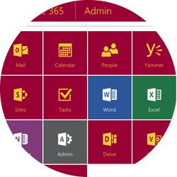 Chantry Primary School Office 365 App Launcher