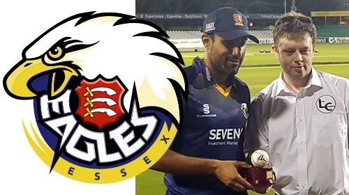 Ravi Bopara with the NatWest T20 Blast match ball