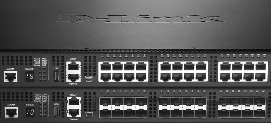 D-Link 10Gigabit Ethernet Switches