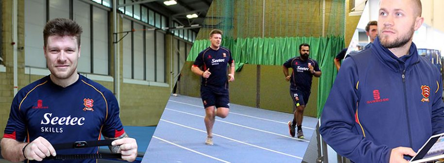 Essex Cricket Club training session with Polar