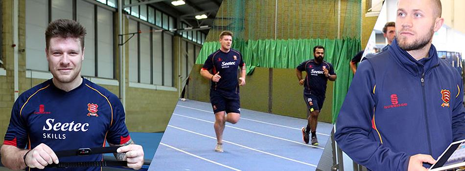 Essex Cricket Club training session with Polar