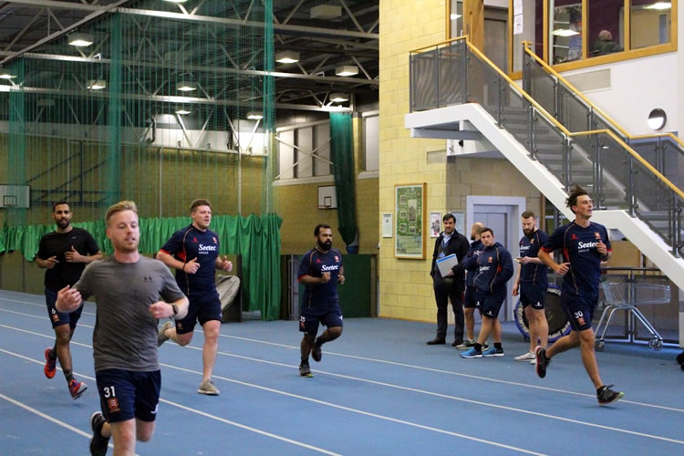 Essex Cricket Team fitness training with Polar technology