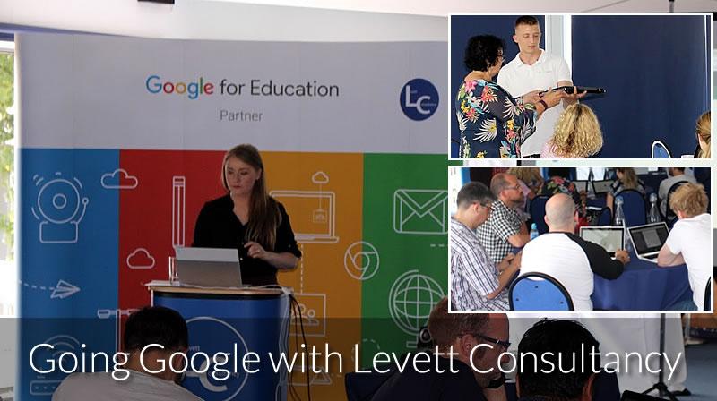 Levett Consultancy Google for Education Event