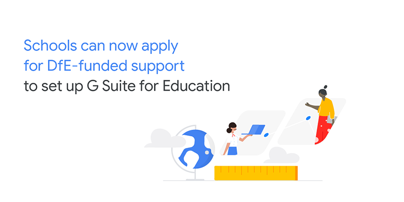 DfE funded support for G Suite Education