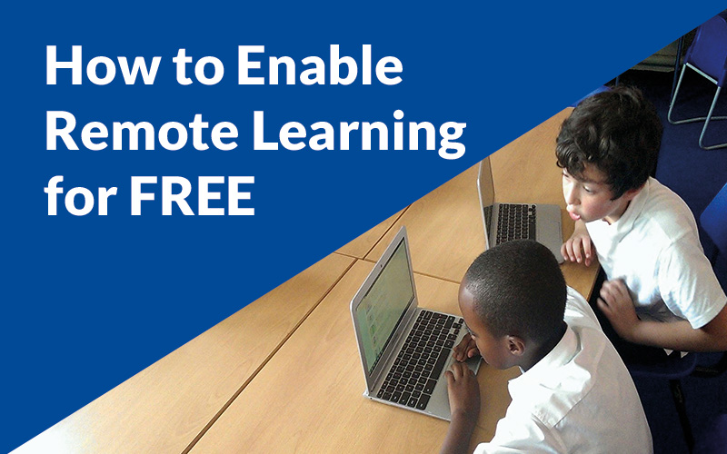 Enabling remote learning