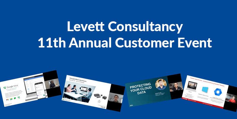 Levett Consultancy 11th annual customer event